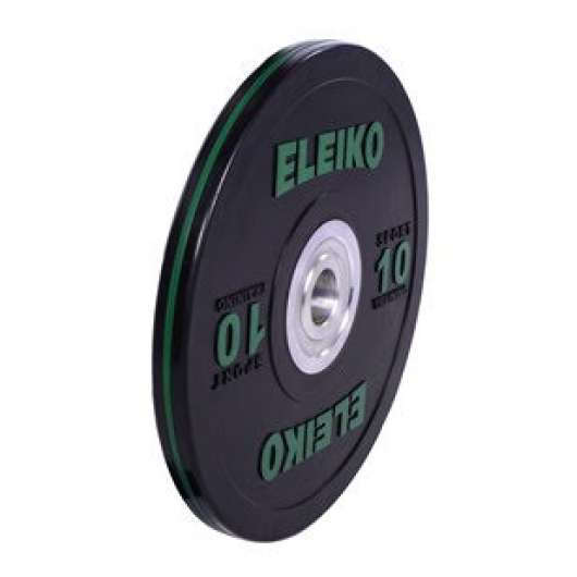 Eleiko Sport Training Discs, black - 10kg