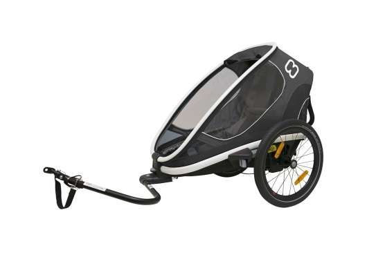 Hamax Outback One (Incl. Bicycle Arm & Stroller Wheel) Reclining Grey