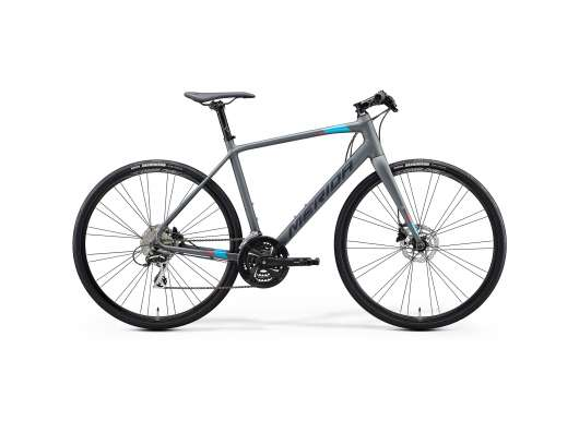 MERIDA SPEEDER 100 GREY/BLUE+S (50 CM)