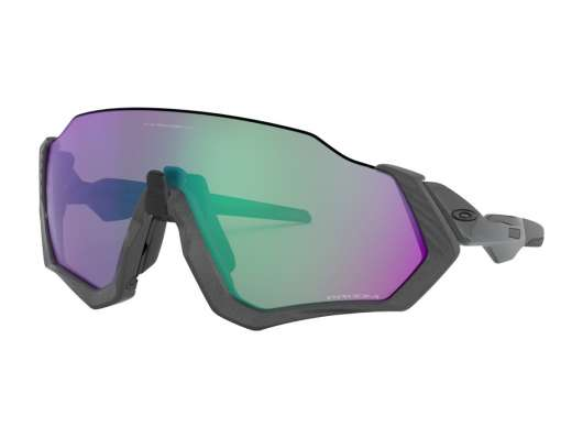 Oakley Flight Jacket Mt Steel W/ Prizm Rd Jade
