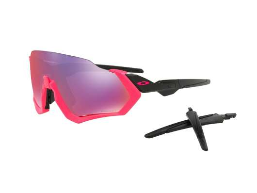 Oakley Flight Jacket Prizm Road Neon pink