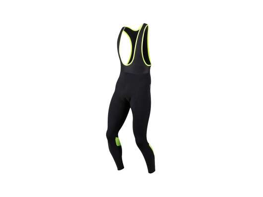 Pearl izumi pursuit thermal pi dry tights l svart/screaming yellow