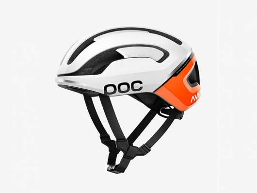Poc Omne Air SPIN Orange/vit S/51-56 cm Orange/vit